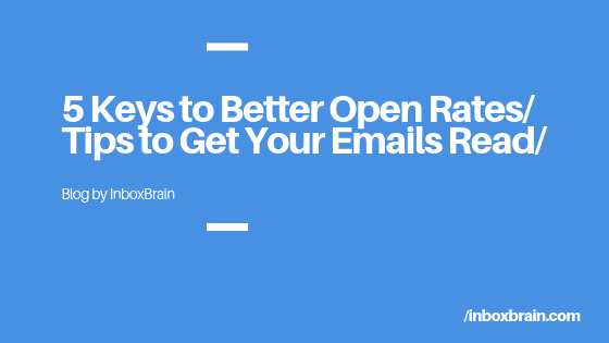 5 Keys to Getting Your Cold-Sales Emails Opened